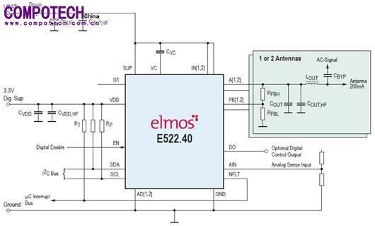i2c信号测试接线图
